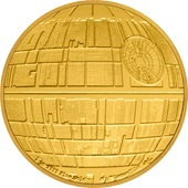 Gold STAR WARS 1oz - Todesstern - PP 2020