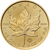 Gold Maple Leaf 1/1