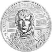Silber Napoleon Bonaparte 2 oz - 200th Anniversary  - Ultra High Relief