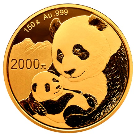 Gold China Panda 150 g PP - 2019
