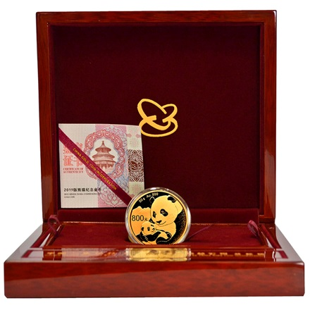 Gold China Panda 50 g PP - 2019