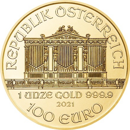 Gold Philharmoniker 1/1 - 2021