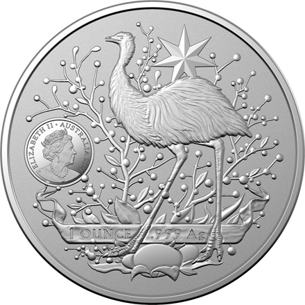 Silber - Australia's Coat of Arms - 1 oz - 2021