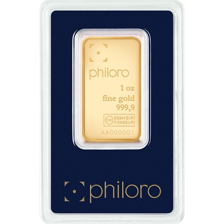 Goldbarren 1oz - philoro