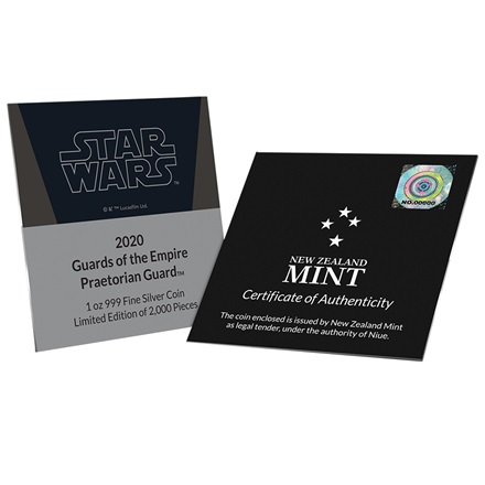 Silber STAR WARS - Guards - Praetorian Guard 1 oz - 2020