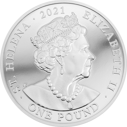 Silber Napoleon Bonaparte 1 oz - 200th Anniversary  - Ultra High Relief