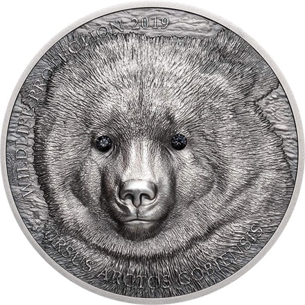 Silber Gobi Bear Final Issue 1oz - 2019
